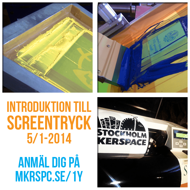 Introduktion till Screentryck