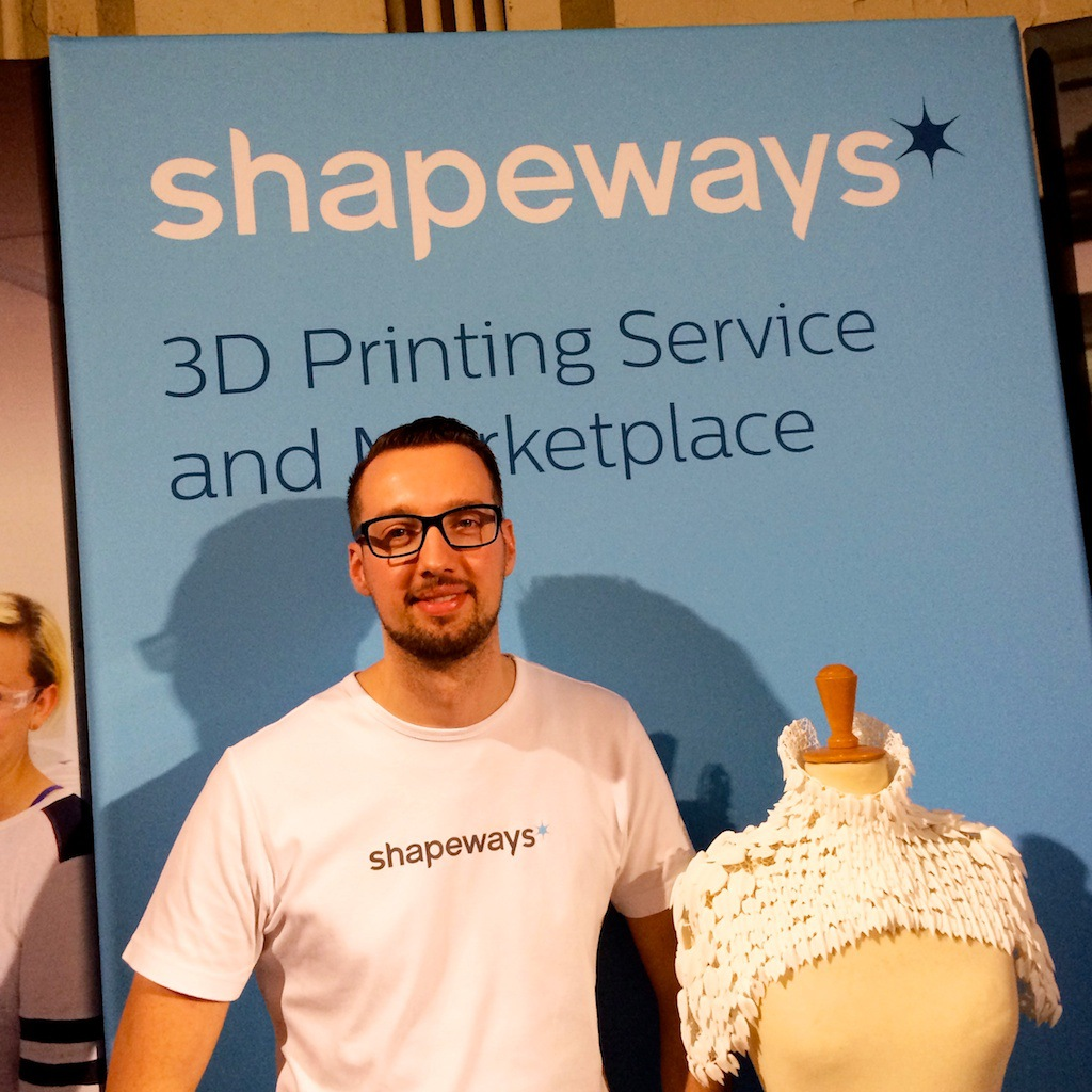 Ruud van den Muijzenberg, Shapeways, Dutch Design week