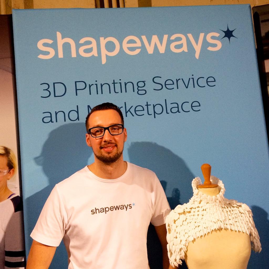 Ruud van den Muijzenberg, Shapeways, Dutch Design week