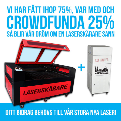 Laserskärare-crowdfund